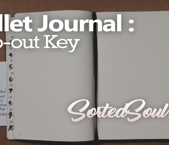 Bullet Journal Key Flap- The Flip out Key