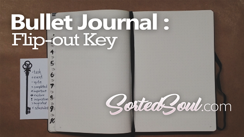 flip out key for journal