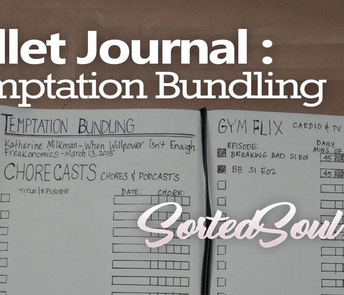 Bujo Tracker: Temptation Bundling