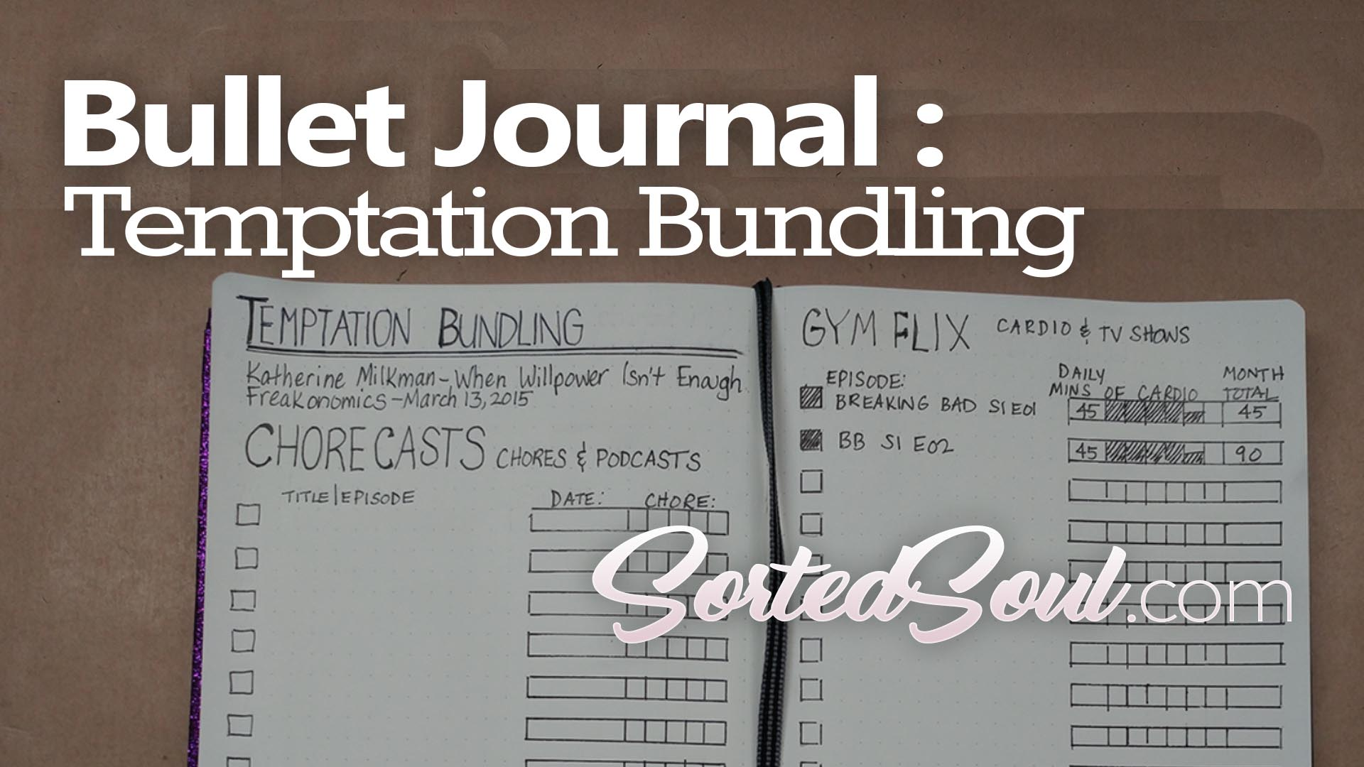 temptation bundling bujo tracker