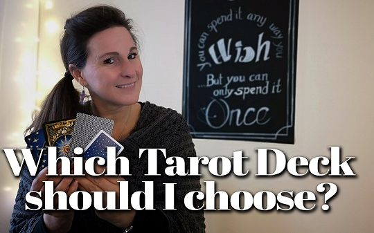 Choosing a Tarot Deck to work with for a Month!