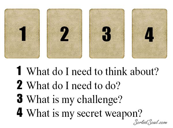 4 Card Tarot Reading - My Secret Weapon