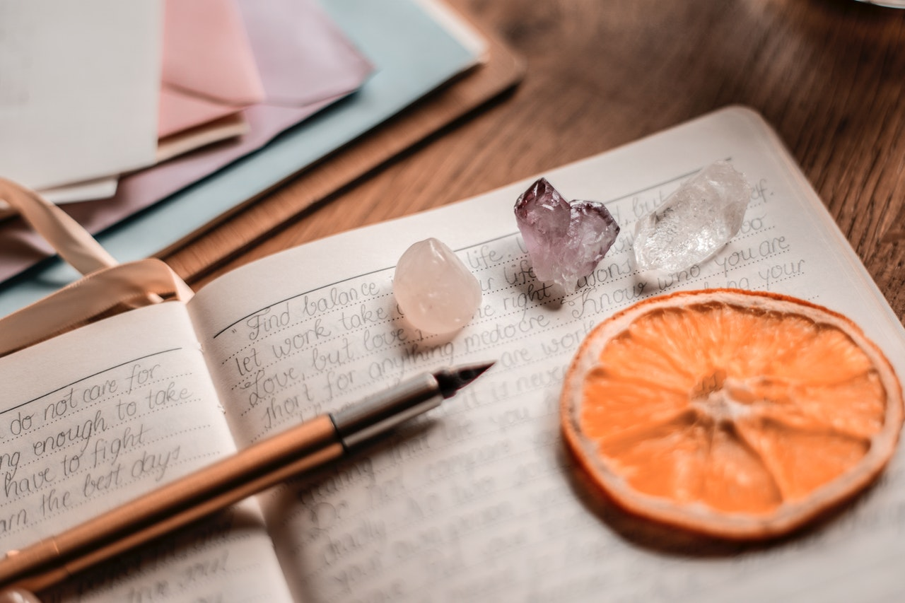 Use the questions created by Tarot General Readings as journal prompts.